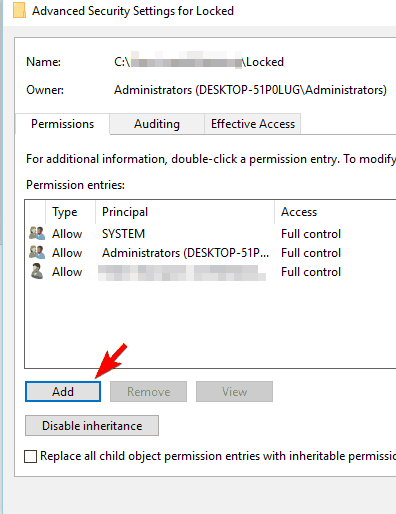 Folder Access Denied. You Need Permission To Perform This Action 6