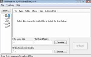 freeundelete file recovery