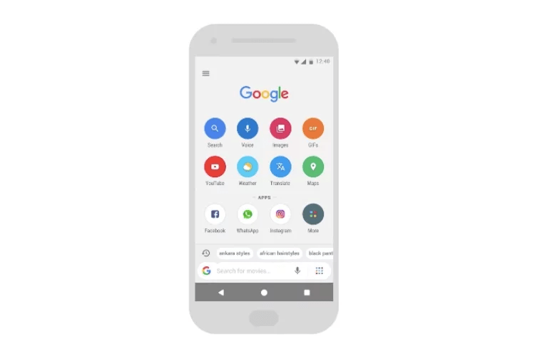 Google Go ads incognito search mode
