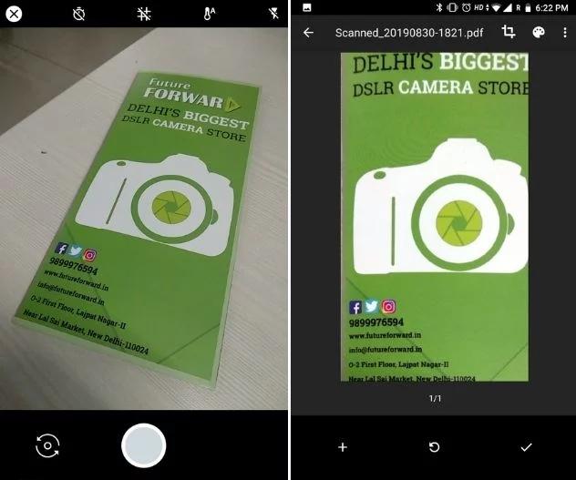google drive scanner, alternative camscanner, best camscanner alternative
