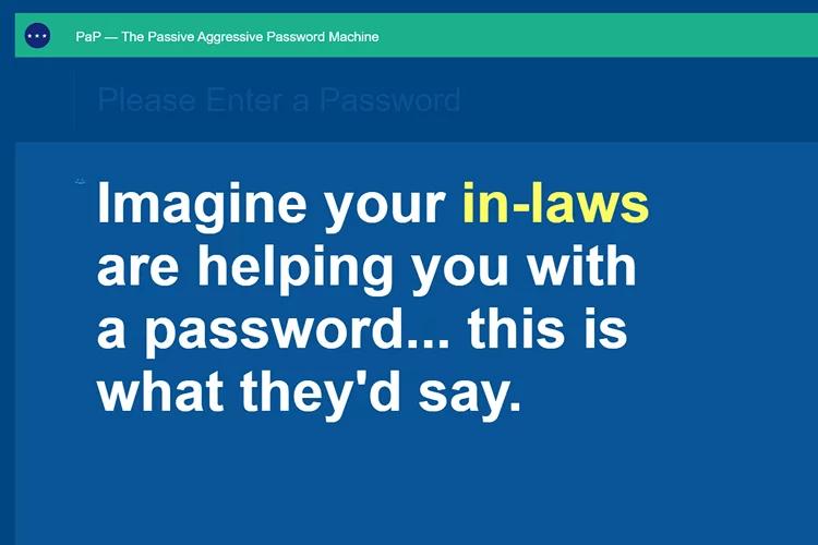 PaP - website password checker