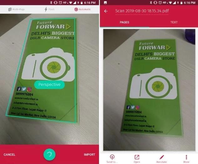 scan bot, best camscanner alternative, camscanner alternative