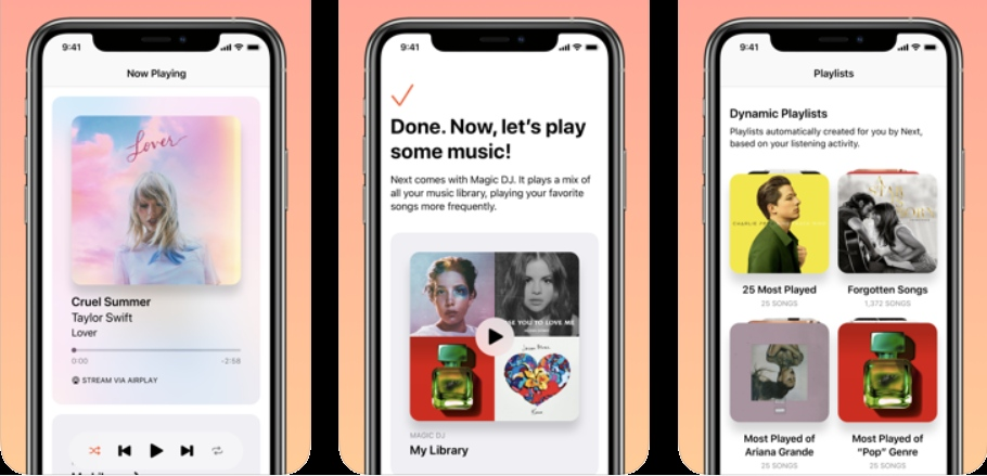 iOS Discover songs never played
