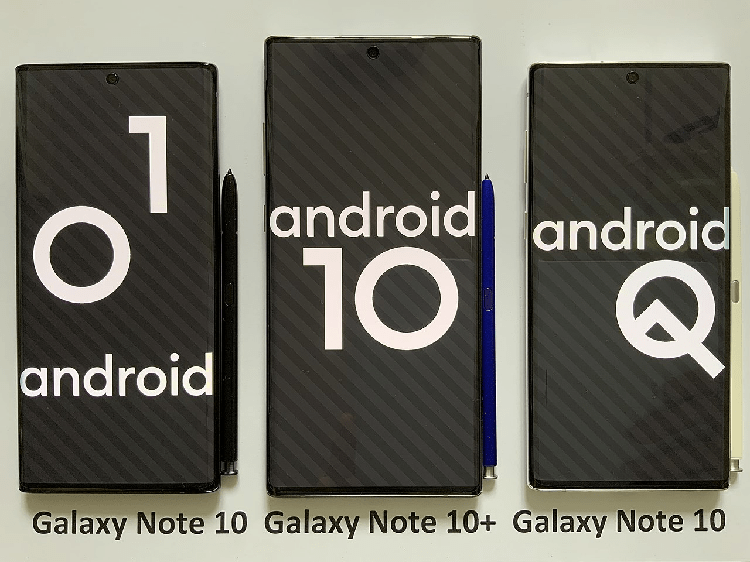 Samsung, android 10 update