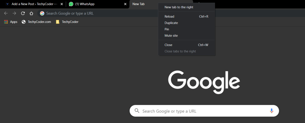 reopen closed tab chrome