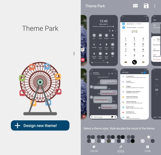 Samsung Theme Park lets you customize any OneUI Smartphone