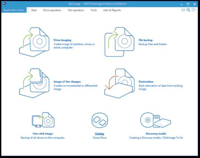 O&O DiskImage, free backup software for windows 8.1