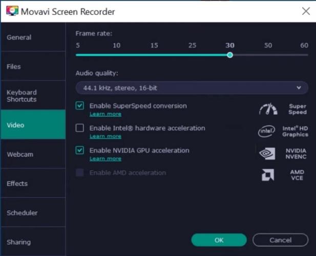 Movavi Screen Recorder, pc game recording software, video game recording software, best free game recording software