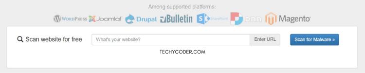 quttera, online website scanner, free website scanner tool, online website malware scanner