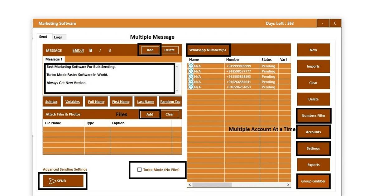 WappBlaster WhatsApp marketing software