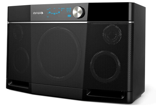 aiwa exos-9 bluetooth speaker, loudest bluetooth speakers, loud bluetooth speaker, bluetooth speakers loudest
