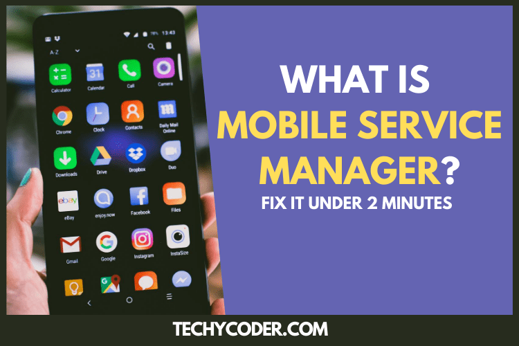 mobile services manager, what is mobile services manager, mobile service manager, mobile services manager app