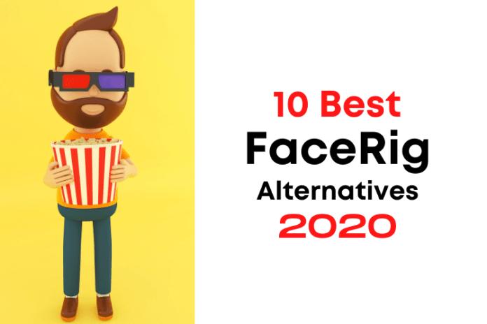 FaceRig Alternatives, alternatives to facerig, software like facerig