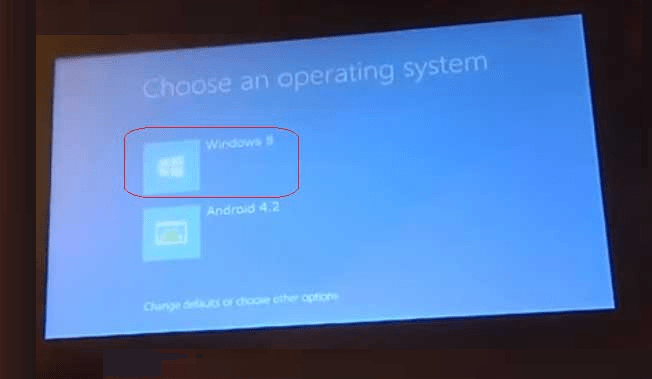 install windows on android tablet dual boot