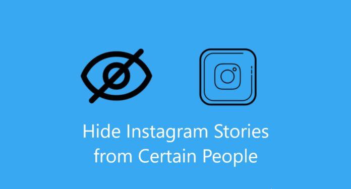 Hide instagram stories, hide insta story