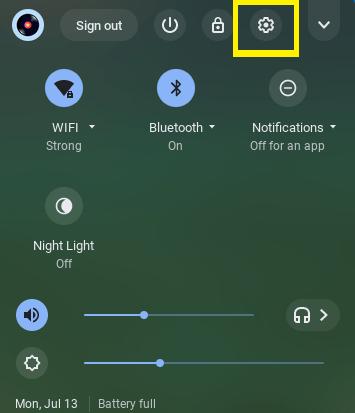 Chromebook Settings for Fortnite
