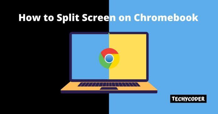 How to split screen on chromebook, google chrome split screen, how do you split your screen on a chromebook