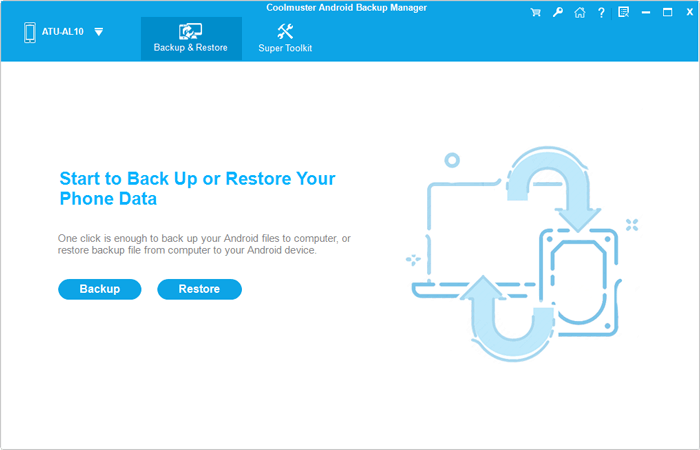 easily backup android to pc