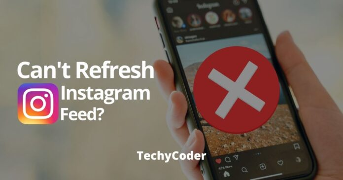 fix Instagram couldn't refresh feed
