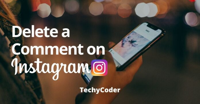 how to delete a comment on instagram, delete a comment post on instagram, bulk delete instagram comment