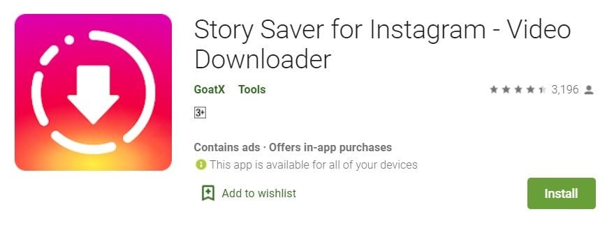 story saver for instagram, screenshot or record instagram story